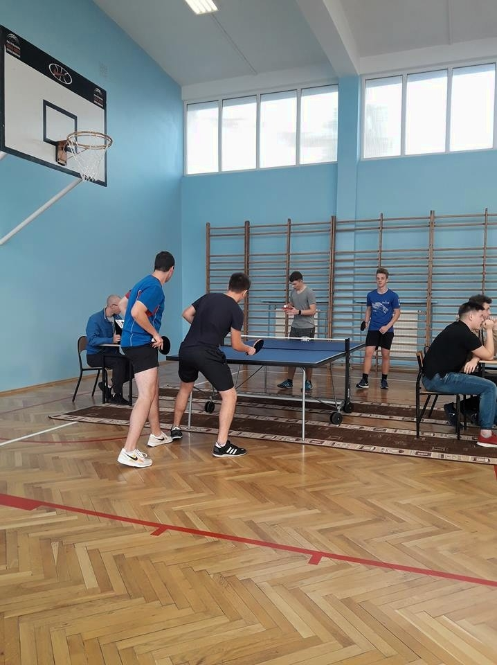 Chłodniczak mistrzem Gdyni w tenisie stołowym