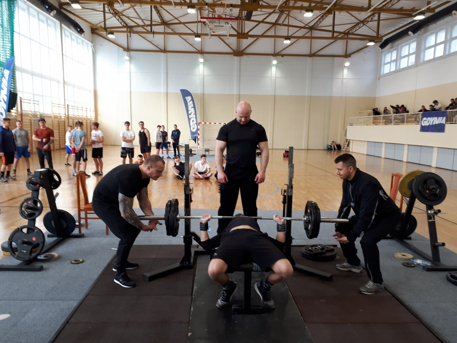 Mistrzowie Gdyni w sportach siłowych