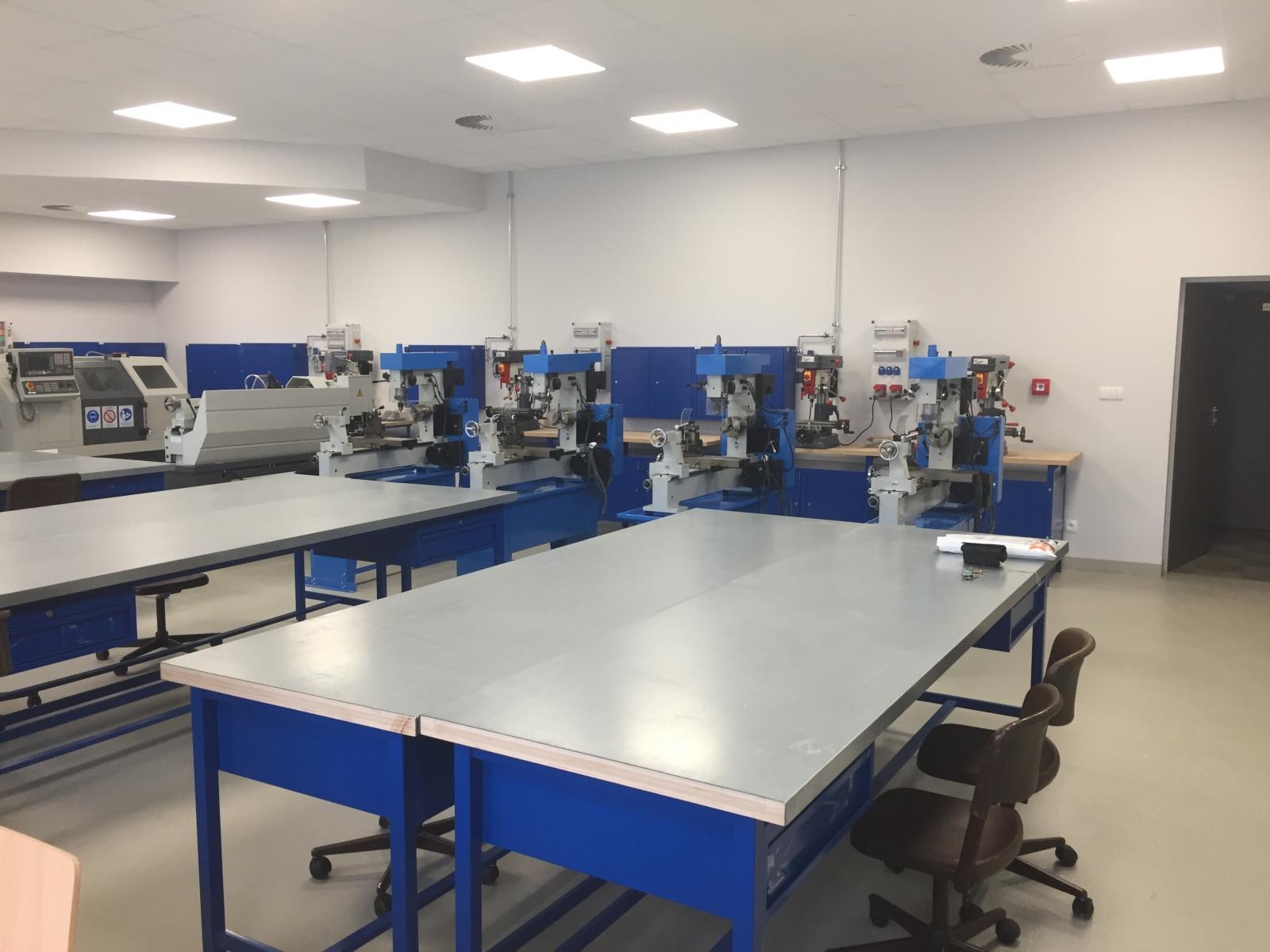 Nowa pracownia technologii mechanicznych